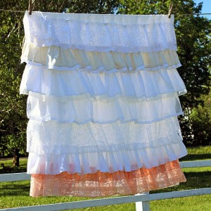 Romantic Ruffled DIY Tablecloth