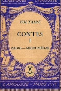 Couverture Zadig suivi de Micromégas