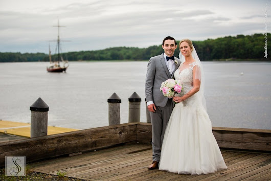 Elizabeth & Michael's Maine Maritime Museum Wedding