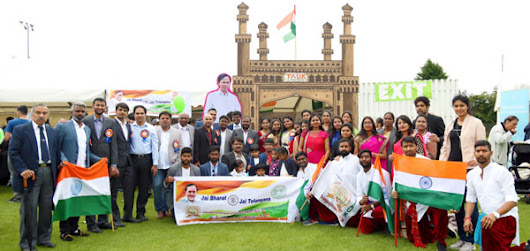 TAUK showcased Telangana in London | Mission Telangana