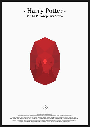 Harry Potter And the Philosopher's Stone - Minimalist Poster.