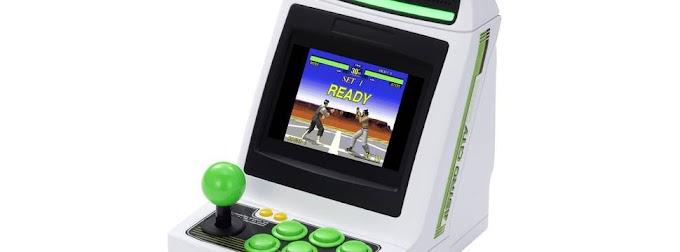 Sega lançará mini arcade com 36 jogos