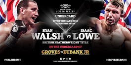 Eubank Jr vs Groves Undercard Update » Boxing News