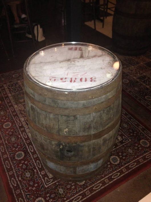 Bourbon Barrels at London Bull in Langley | The Eco Floor Store