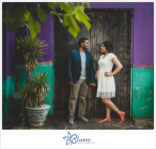 Joanna + Toby | an Athens, GA engagement session with latin flair