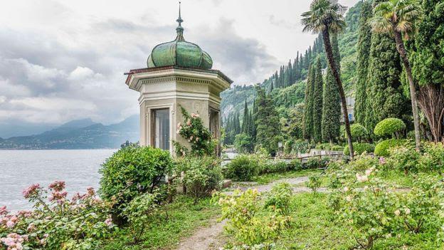 Vista para o Lago Como