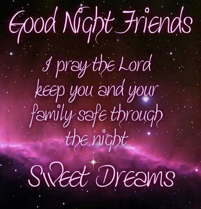 Pictures Of Good Night Sweet Dreams Friends Kidskunstinfo