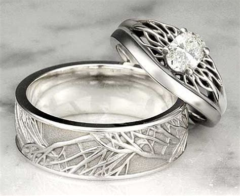Unique Wedding Rings ? Unique Wedding Bands   Diamond