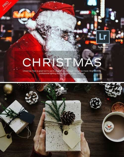 Free Graphicex: Christmas - Lightroom Presets
