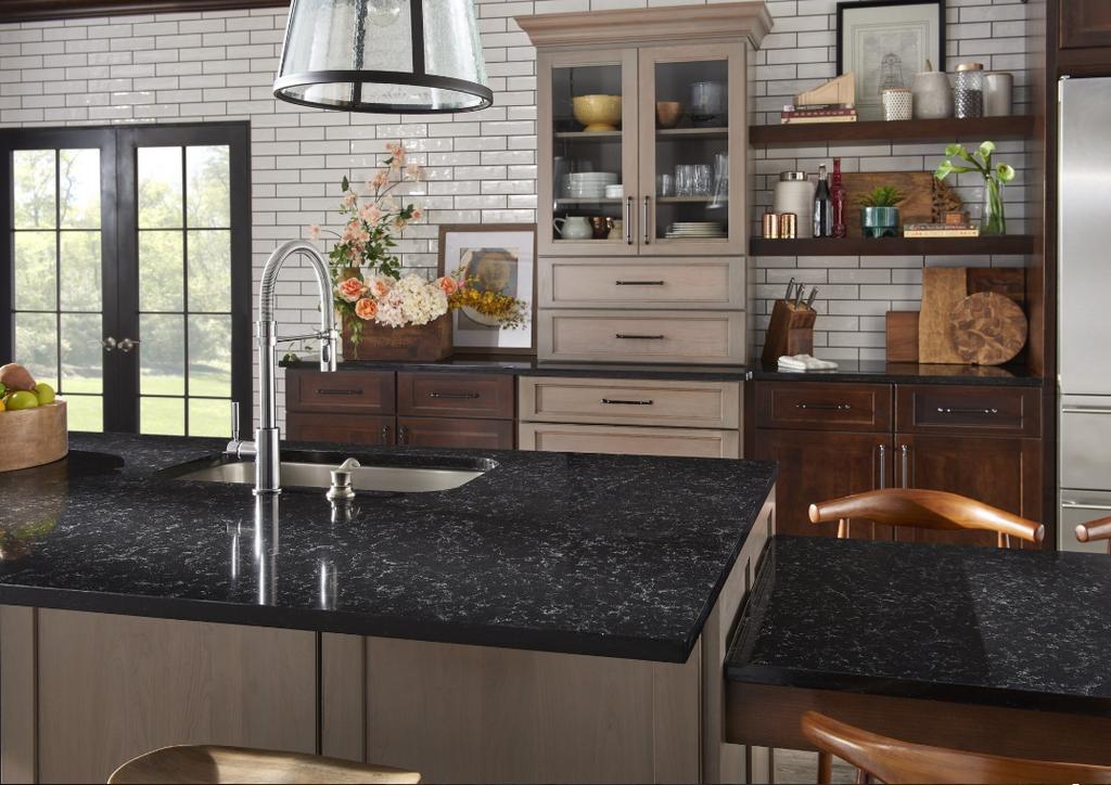 Pairing Quartz Countertops with Oak Cabinets: 6 Design ...