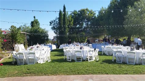 Secluded Garden Estate Wedding  Temecula DJ   Music Man Events