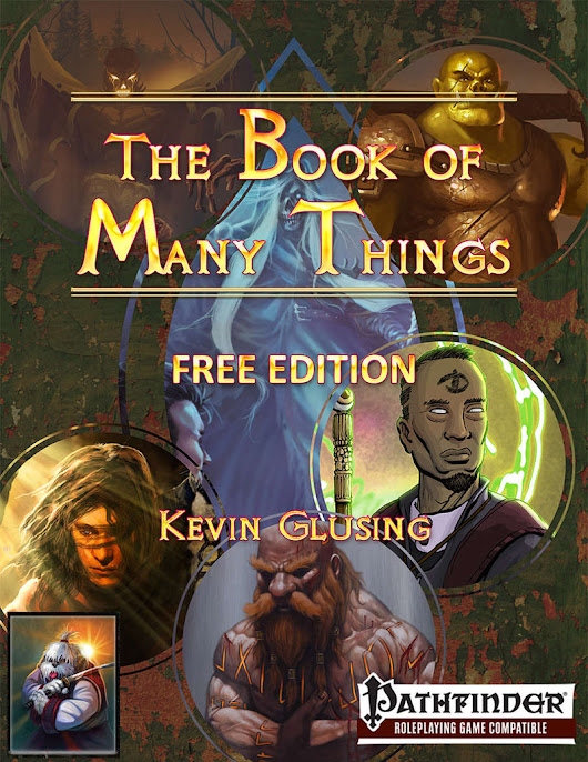 The Book of Many Things Free RPG Day Edition