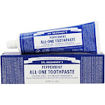 Dr. Bronners AllOne Toothpaste Fluoride Free Peppermint 5 oz.