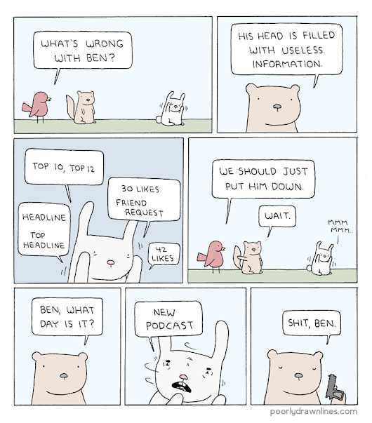 Poorly Drawn Lines – Overload
