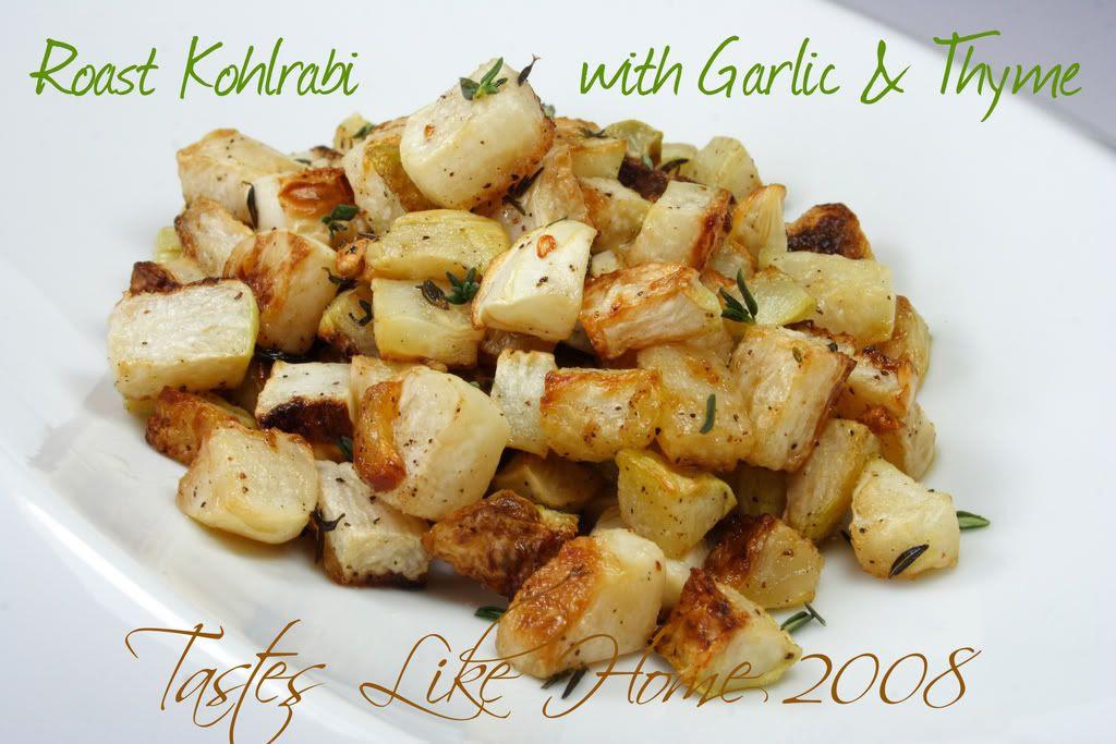 Roast Kohlrabi