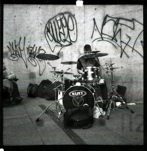 drummer/busker by pho-Tony