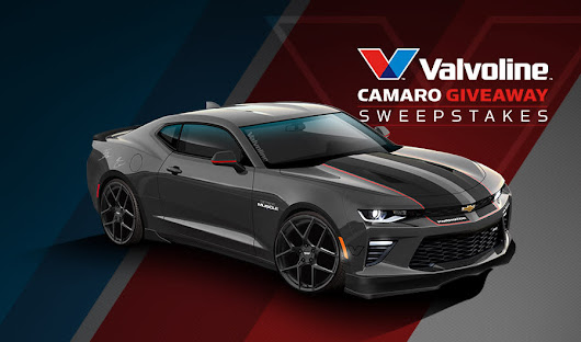 The Valvoline Camaro Giveaway Sweepstakes