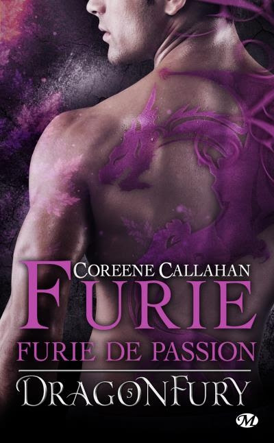 Couverture Dragonfury, tome 5 : Furie de Passion