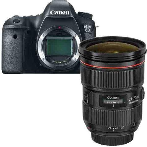 Canon 6D Digi SLR   Canon EF 24 70mm f2.8L II USM Lens Kit