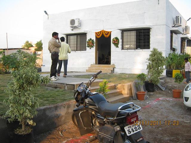 Site Office of Pankaj Aasmaan  on Lohegaon Wagholi Road at Lohegaon Pune 411 047