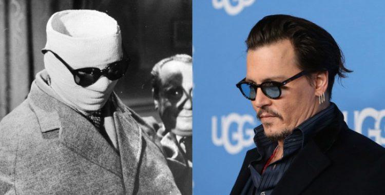 Johnny Depp vai interpretar 'O Homem Invisível' no Dark Universe da Universal