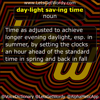 Did 'ya know? GFX (03/08/2015): Daylight Saving Time