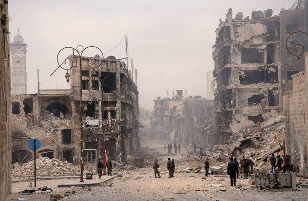 Περί ειρηνικής λύσης για τη Συρία και άλλων δημοφιλών ανεκδότων