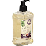 A La Maison Ja Provence Liquid Soap, For Hand & Body, Fig & Basil - 16.9 oz