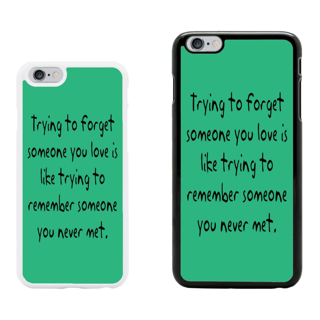 Sayings Quotes Case Cover for Apple iPhone 6 \u0026 Plus  A7