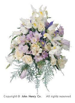 Purple Wedding Bouquets   Bouquet Galleries of Photos