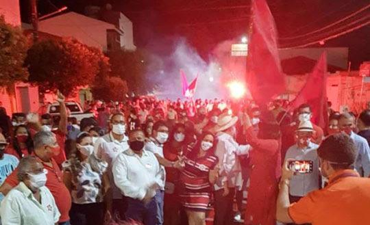 Ministério Público mostra preocupação com aglomerações promovidas por pré-candidatos em cidades da Bahia | Foto: Reprodução/Redes Sociais