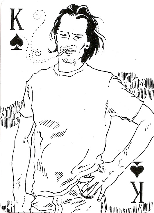 Eschaton-a-Go-Go playing cards: Luke