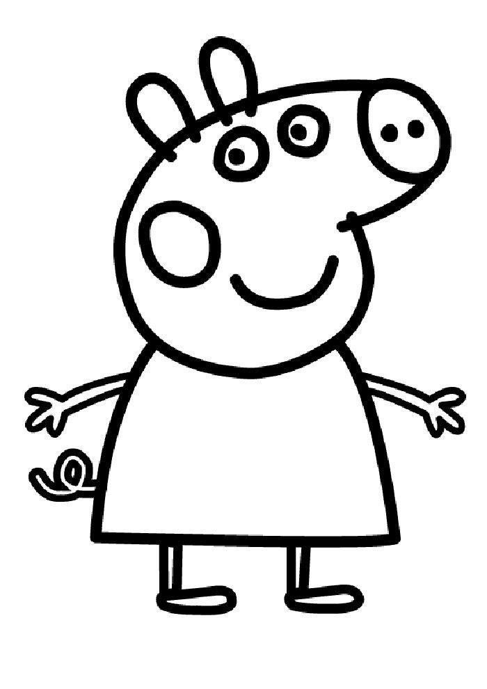 ausmalbilder kostenlos ausdrucken peppa wutz - kinder