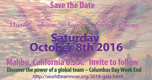 World Team Now's 2016 Gala Event 9/8/16