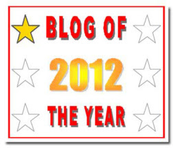2012 Blog of the Year Award