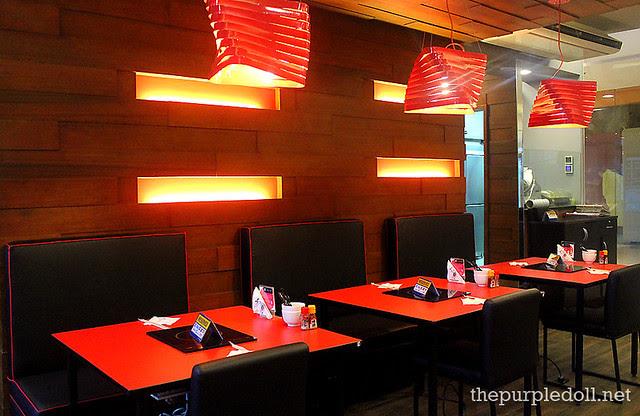 Ganso-Shabuway Dining Area