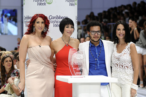 Tita Hasbun, Caridad Fernandez, Miguel Genao y Laura Font