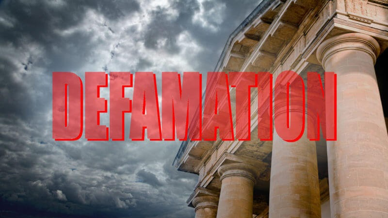 court application to have libel defamation removed from google