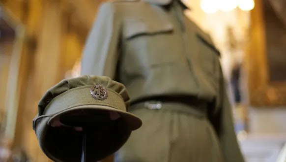 The Auxiliary Territorial Service overalls and cap