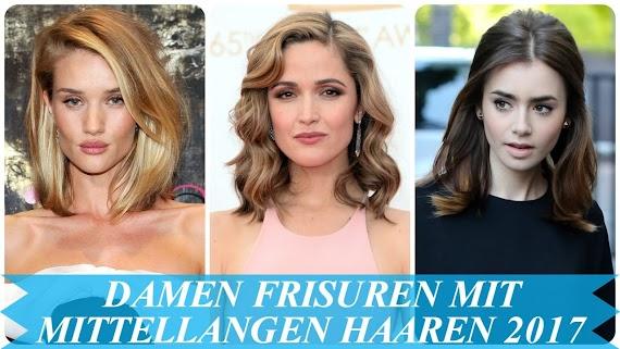 Damen Frisuren 2017 Mittellang