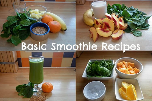 Here's What To Put In A Basic Smoothie Recipe
