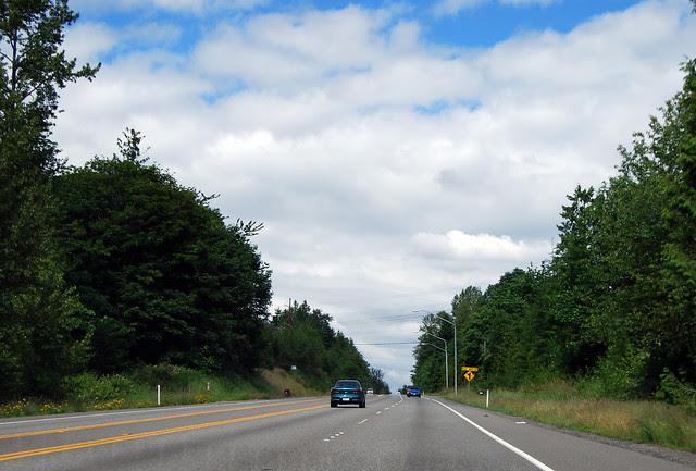 SR 204 west of Lake Stevens