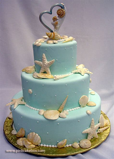 The Unique Wedding Cake With Beach Ideas ~ Just For Wedding