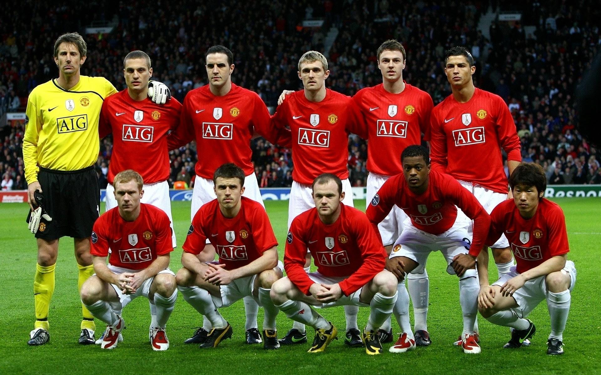 Manchester United FC Squad | Wallpup.com
