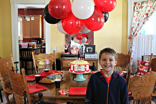 Jacob's 9th Birthday Movie Party!