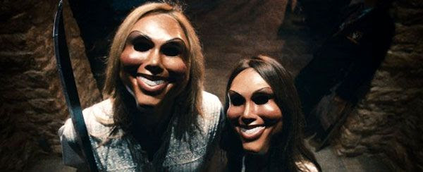 Two homicidal individuals attempt to take advantage of an annual twelve-hour period known in the U.S. as THE PURGE.