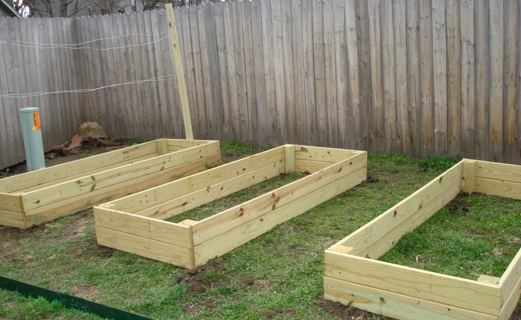 Raised bed garden ideas cheap home minimalist modern for Cheapest way to make raised beds