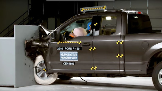 Ford F-150 stands alone in 'good' result on IIHS crash test