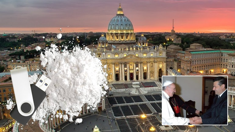 Αποτέλεσμα εικόνας για Συνελήφθη υπάλληλος του Βατικανού με κοκαΐνη