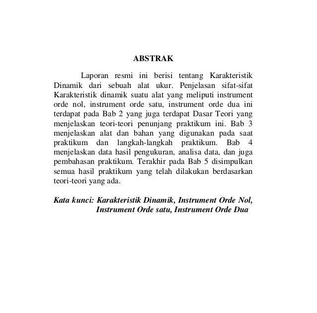 Contoh Abstrak Laporan Praktikum Fisika Dasar